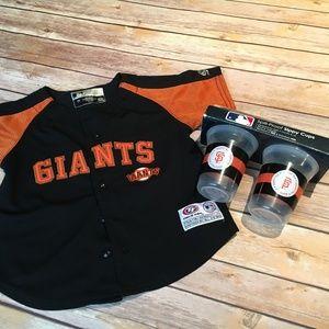 Giants Baseball Toddler set; 2t